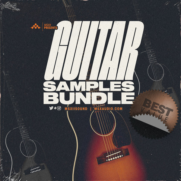 MSXII Sound Design - Guitar Samples Bundle