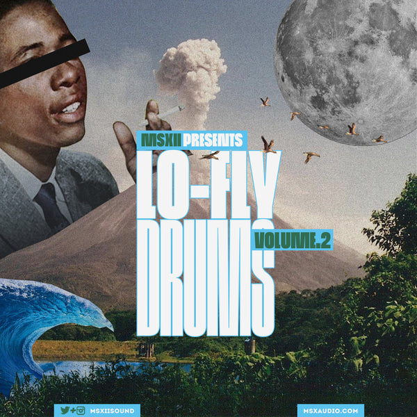 MSXII Sound Design Presents - Lo-Fly Drums Vol. 2