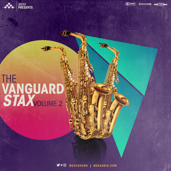 MSXII Sound Design - The Vanguard Stax Vol. 2
