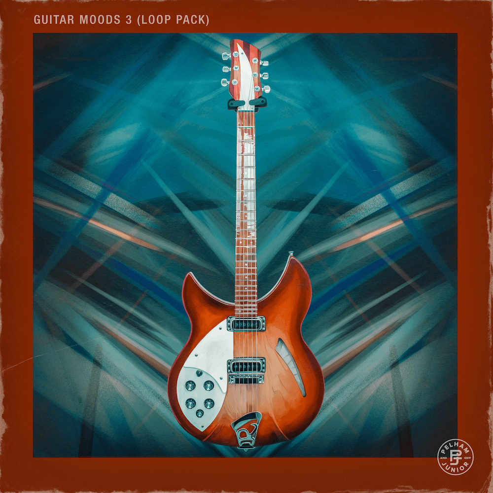 Pelham & Junior - Guitar Moods Vol. 3 (Loop Pack)