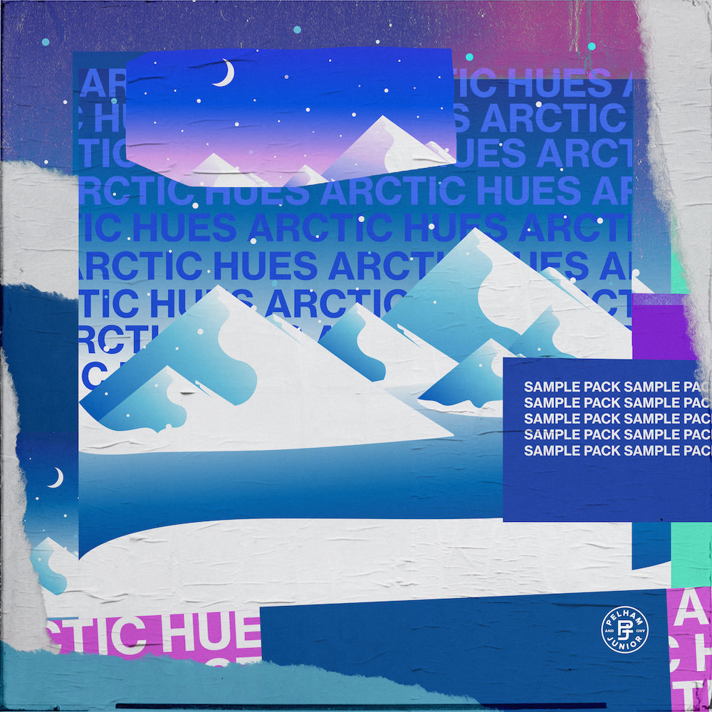 Pelham & Junior - Arctic Hues Sample Pack