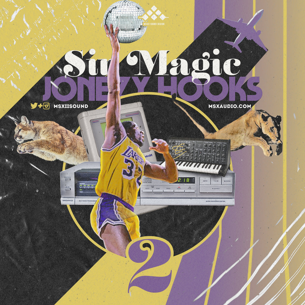 MSXII Sound Design - Sir Magic Jonezy Hooks Vol. 2 (Vocal Sample Pack)