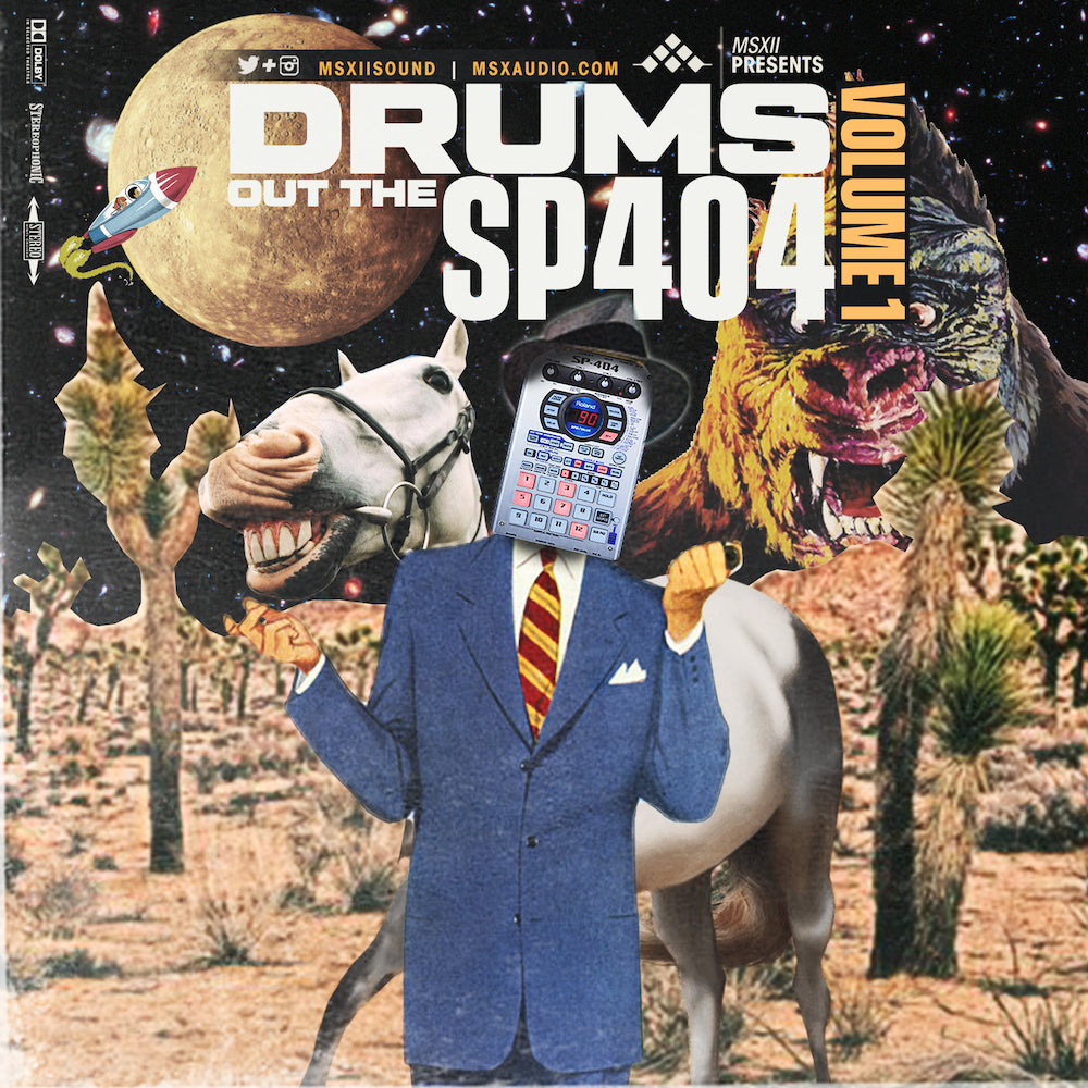 MSXII Sound Design - Drums Out The SP404 Vol. 1
