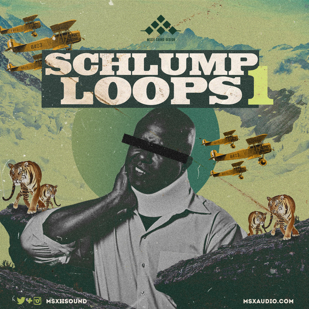 MSXII Sound Design - Schlump Loops Vol. 1