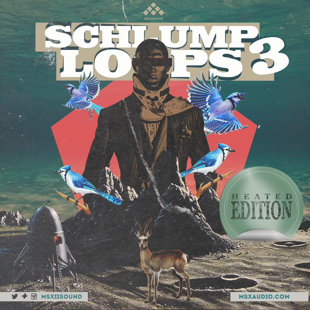 MSXII Sound Design - Schlump Loops Vol. 3 (Digital Download)