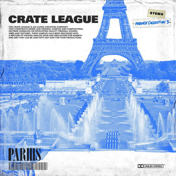 The Crate League - French Collection Vol. 3
