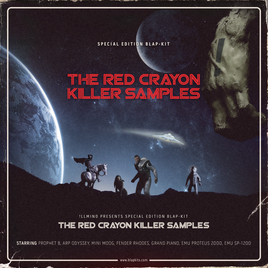 Illmind - Special Limited Edition: The Red Crayon Killer Samples (Digital Download)