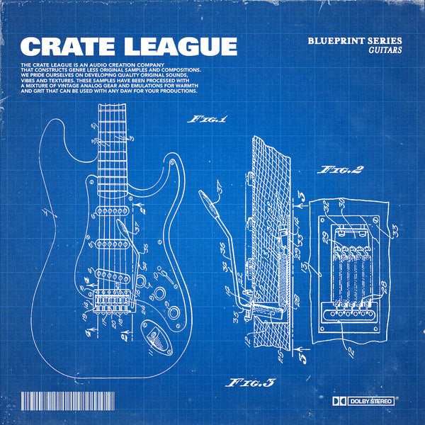 The Crate League - BluePrint Series (Guitars)