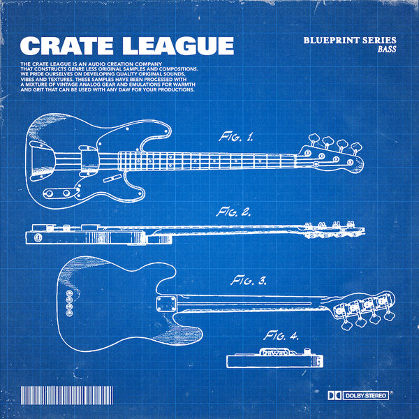 The Crate League - BluePrint Series (Bass)