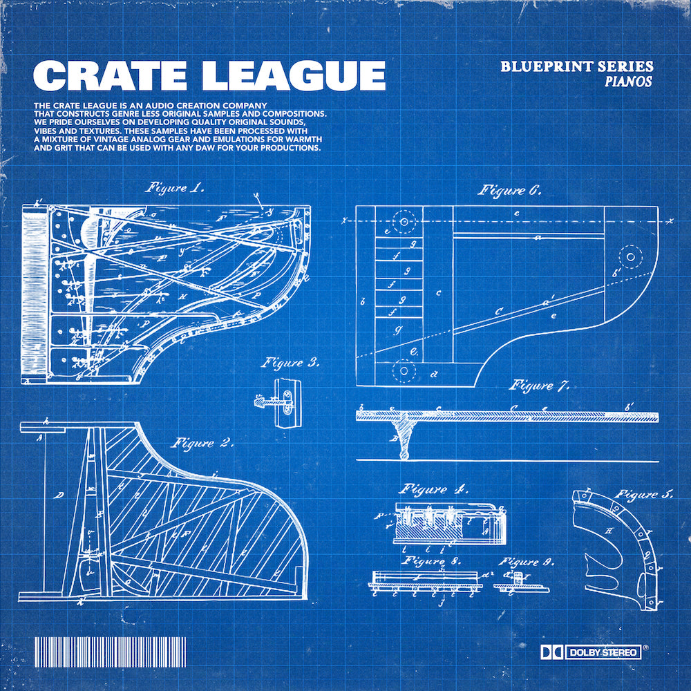 The Crate League - BluePrint Series (Keys)
