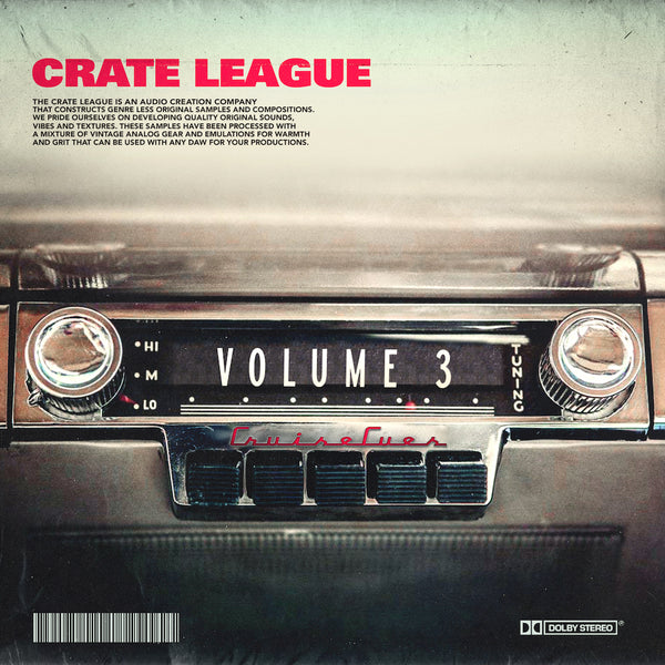 The Crate League - Cruise Cues Vol. 3