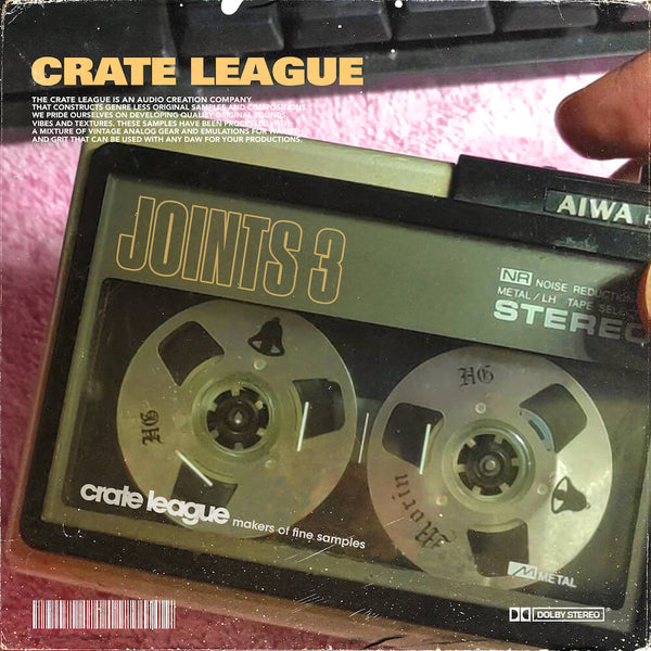 The Crate League - Joints Loop Pack Vol. 3