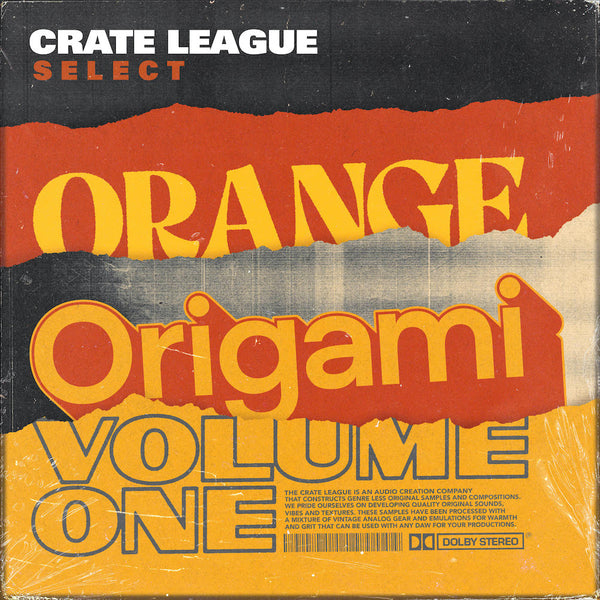The Crate League - Orange Origami Vol. 1