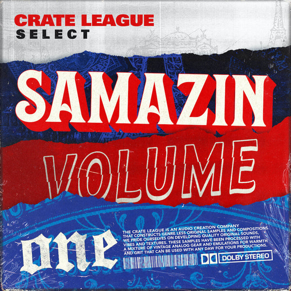 The Crate League Select - Samazin Vol. 1