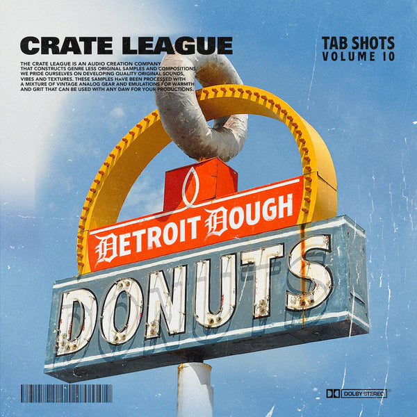 The Crate League - Tab Shots Vol. 10 (Detroit Dough)