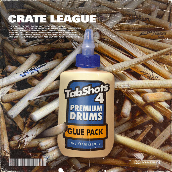 The Crate League - Tab Shots Vol. 4 (Glue Edition)