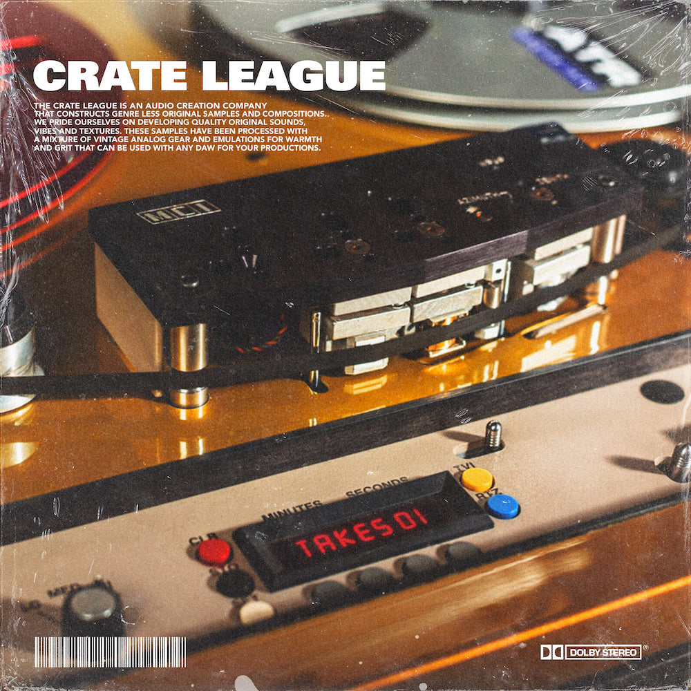 The Crate League - Tab Shots Vol. 6 (Takes)