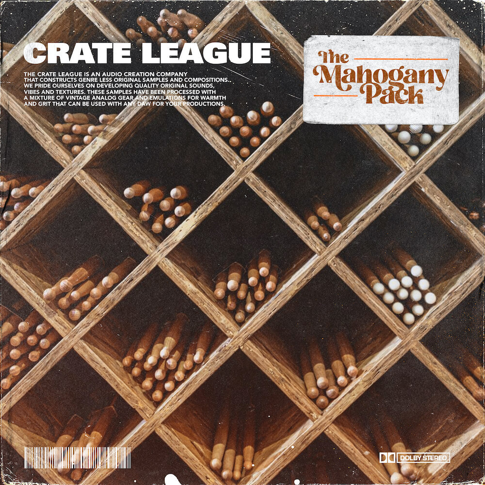 The Crate League - Tab Shots Vol. 7 (Mahogany)