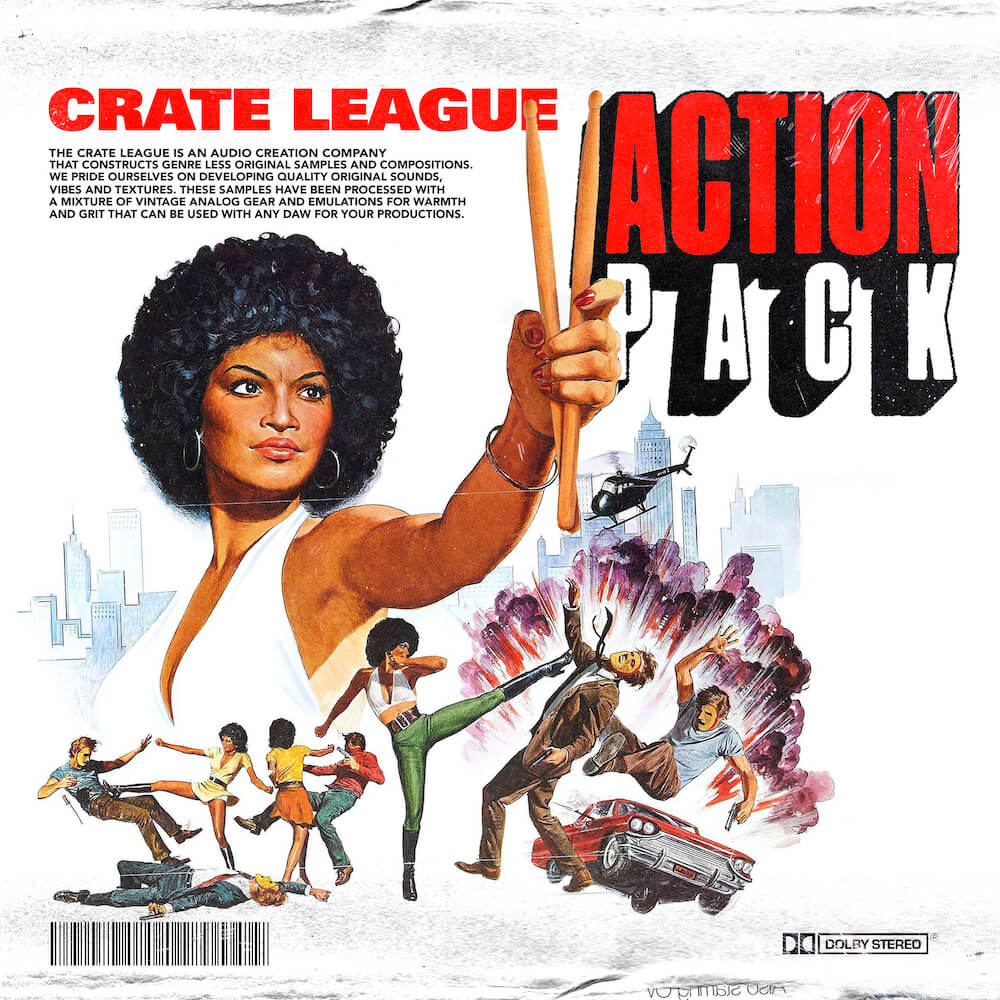 The Crate League - Tab Shots Vol. 9 (Action Pack)