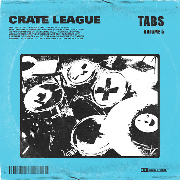 The Crate League - Tabs Vol. 5 (Dirty Dungeon)