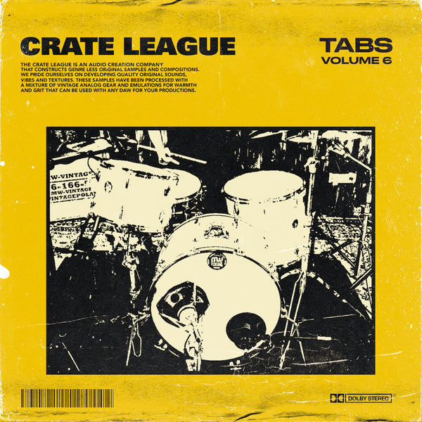 The Crate League - Tabs Vol. 6