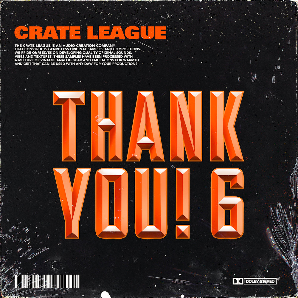 The Crate League - Thank You Vol. 6