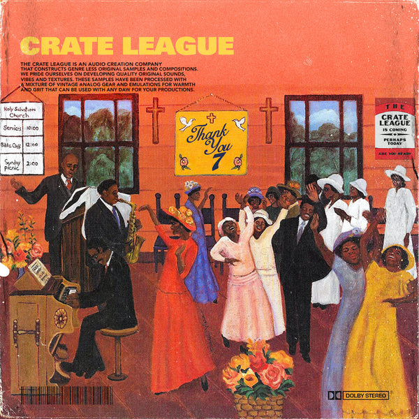 The Crate League - Thank You Vol. 7
