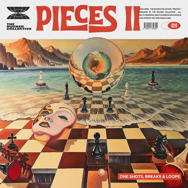 The Rucker Collective 028: Pieces Vol. 2 (Drum Kit and Sample Pack)