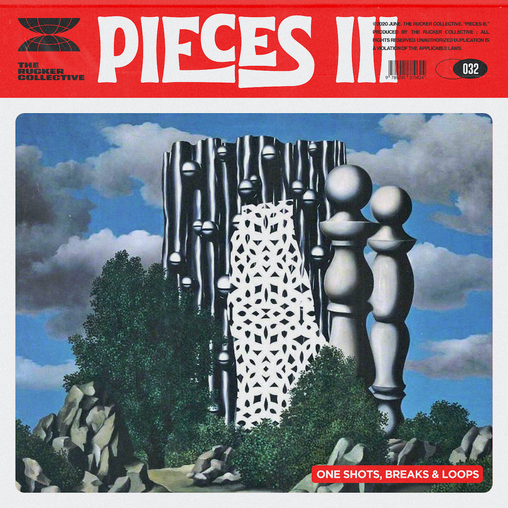 The Rucker Collective 032: Pieces Vol. 3 (Drum Kit and Sample Pack)