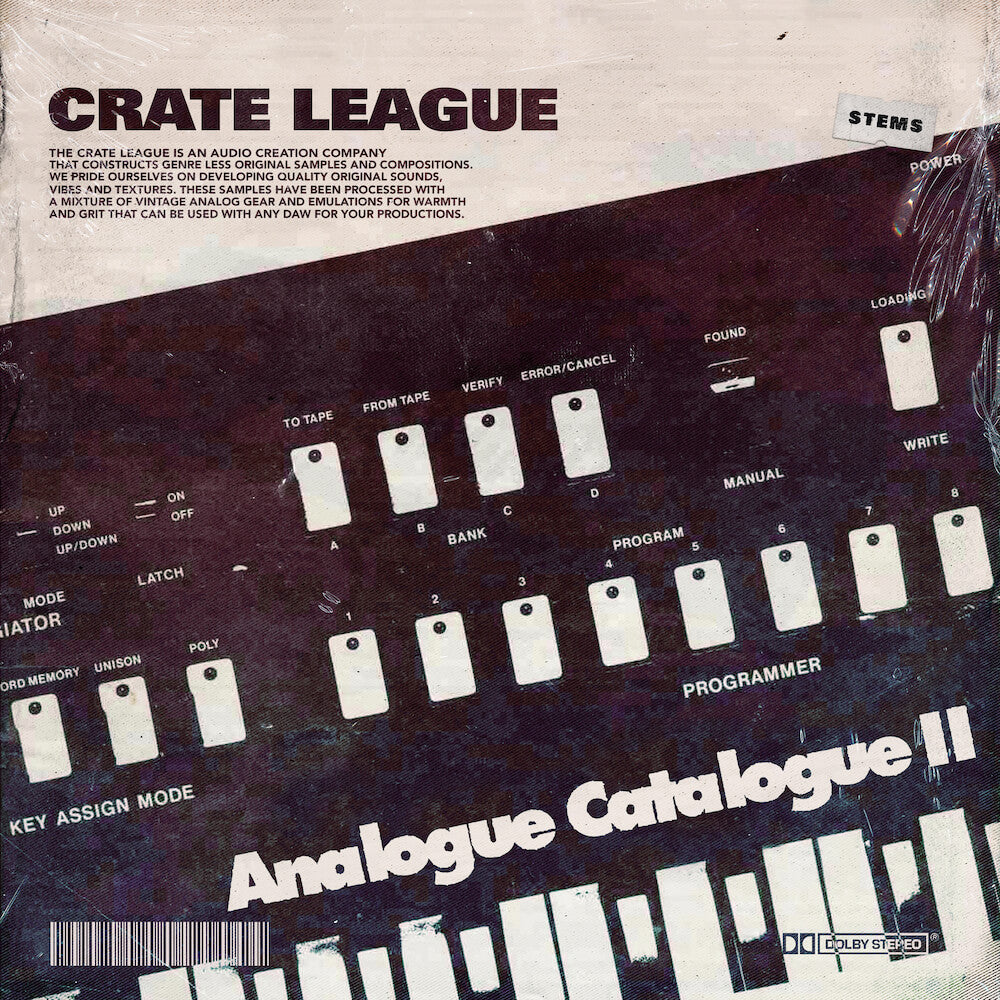The Crate League - Analogue Catalogue Vol. 2