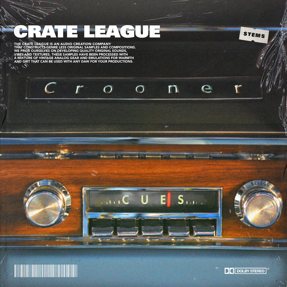 The Crate League - Crooner Cues Sample Pack