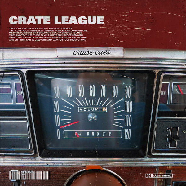 The Crate League - Cruise Cues Vol. 2