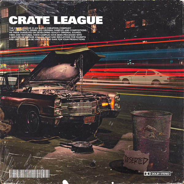 The Crate League - Deserted Sample Pack