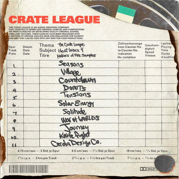 The Crate League - Heat Index Vol. 4