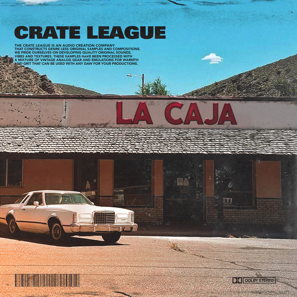 The Crate League Collective - La Caja Sample Pack