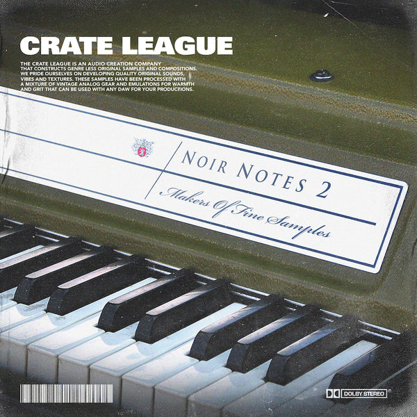 The Crate League - Noir Notes Vol. 2