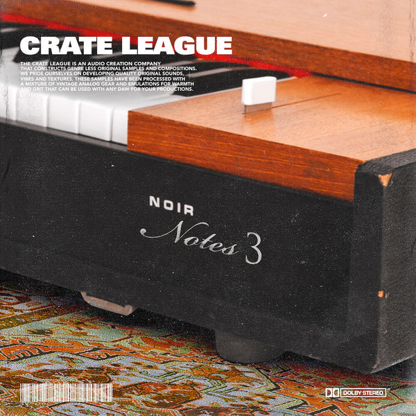 The Crate League - Noir Notes Vol. 3