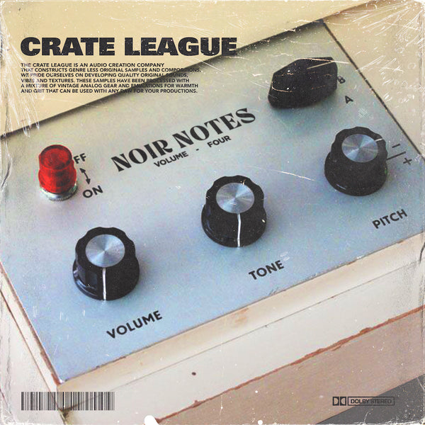The Crate League - Noir Notes Vol. 4