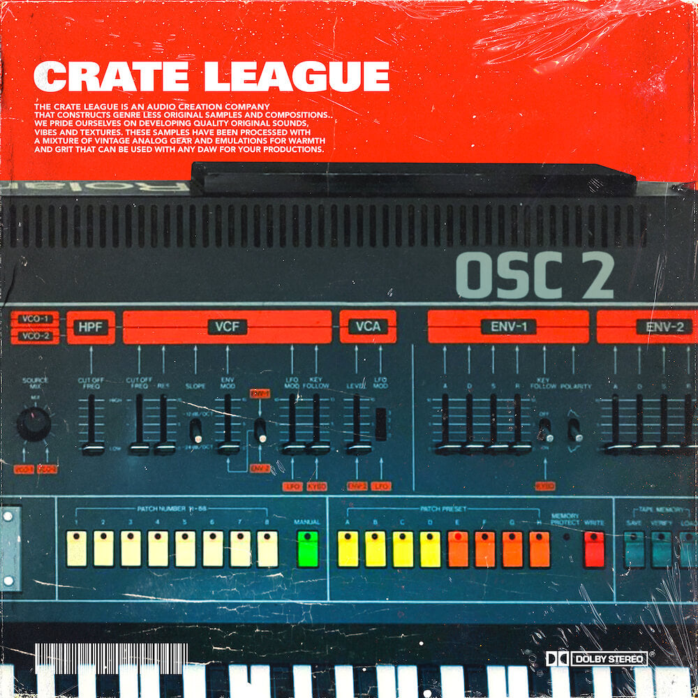 The Crate League - OSC Vol. 2 Sample Pack
