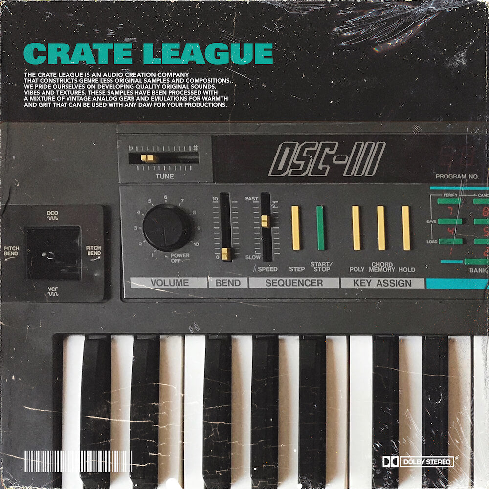 The Crate League - OSC Vol. 3 Sample Pack