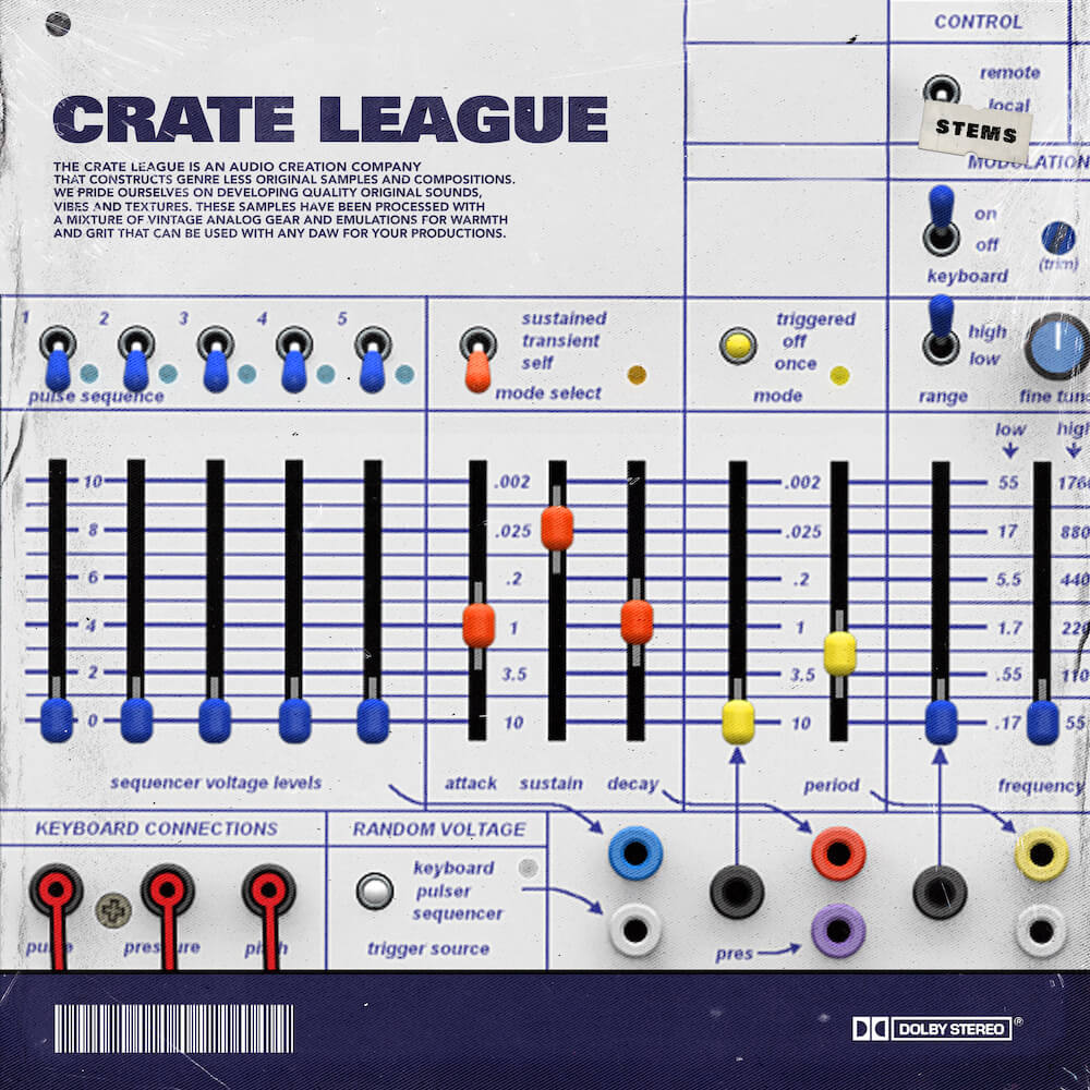 The Crate League - OSC (Oscillation) Loop Pack