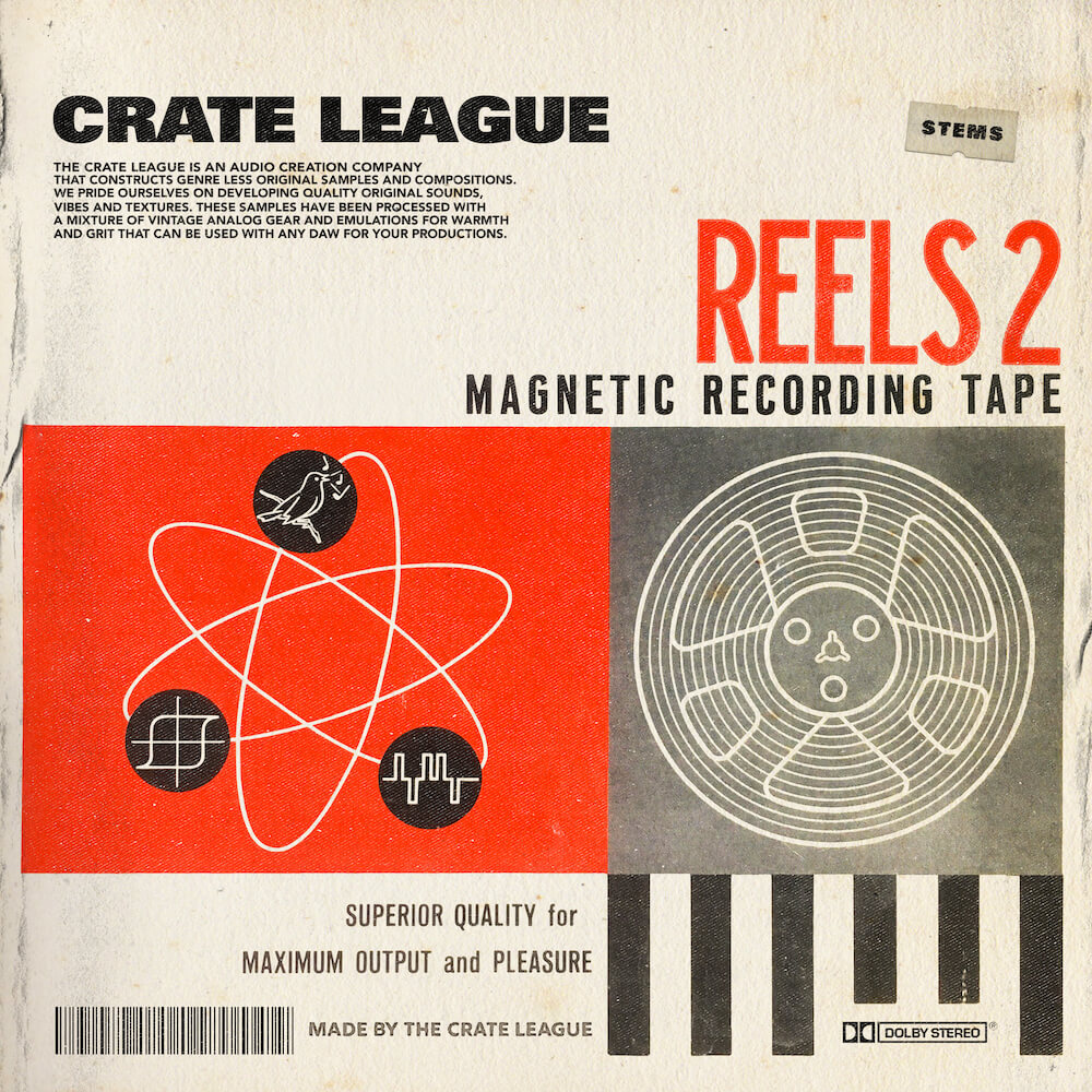 The Crate League - Reels Loop Pack Vol. 2