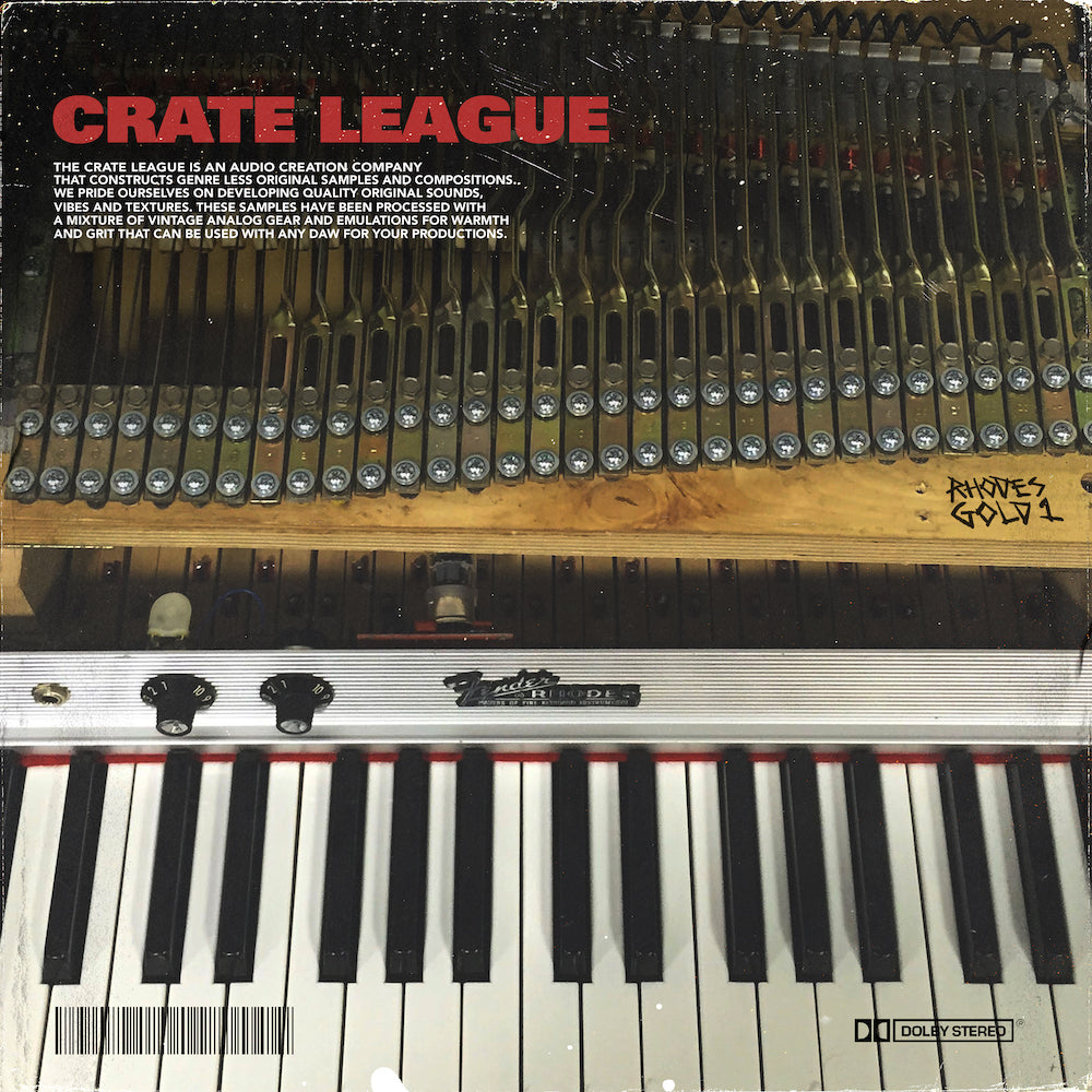 The Crate League - Rhodes Gold Vol. 1
