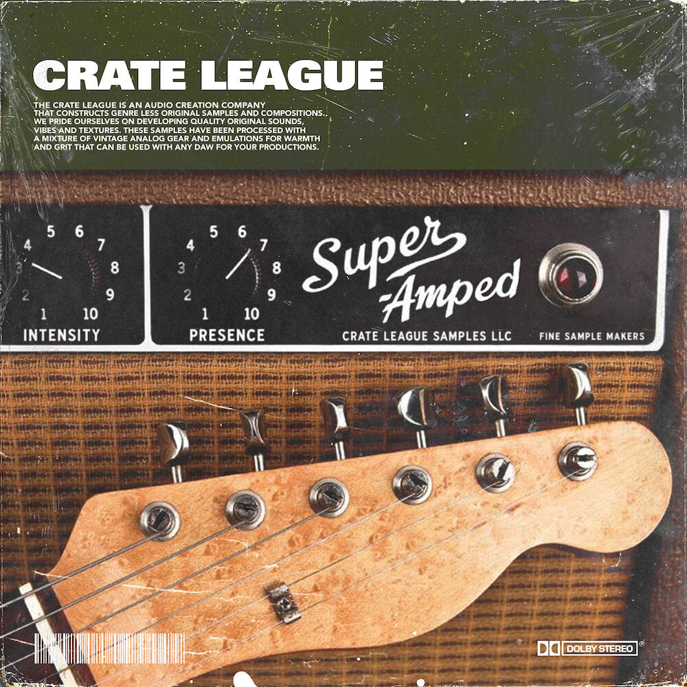 The Crate League - Super Amped Sample Pack