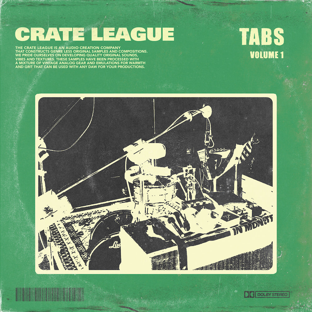 The Crate League - Tabs Vol. 1