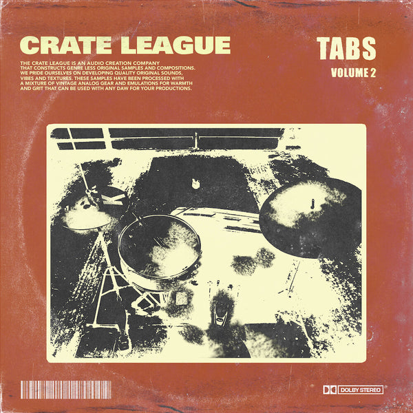 The Crate League - Tabs Vol. 2 Sample Pack