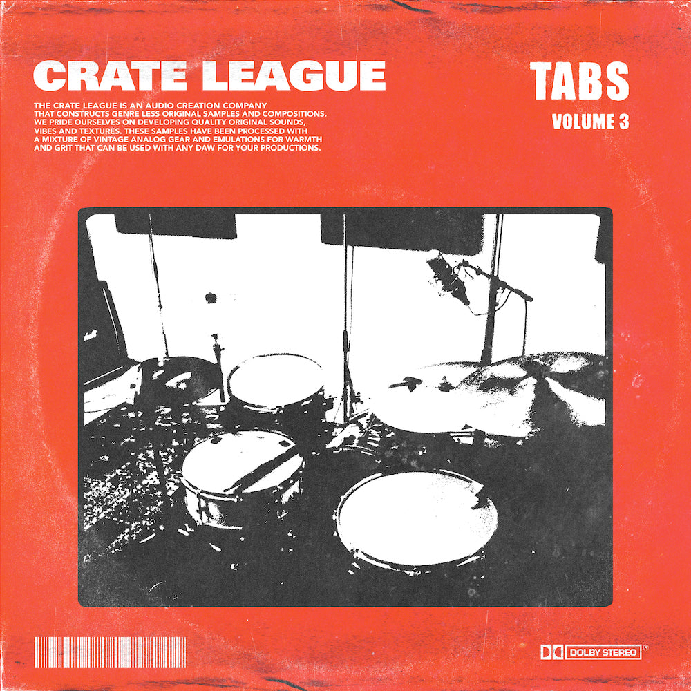 The Crate League - Tabs Vol. 3