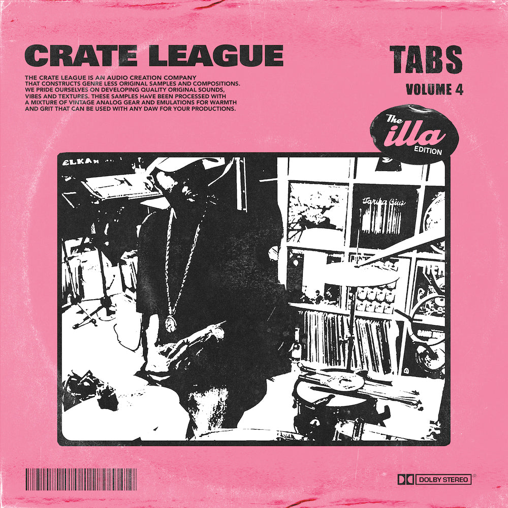 The Crate League - Tabs Vol. 4 (The Illa Edition)