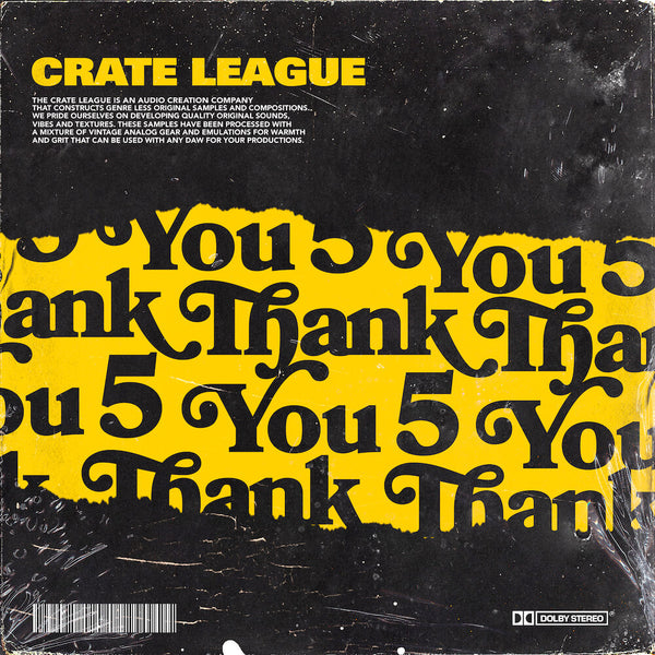 The Crate League - Thank You Vol. 5