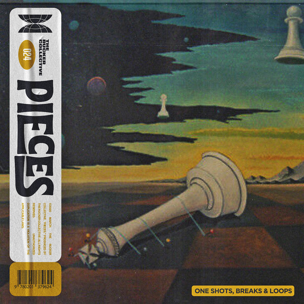 The Rucker Collective 024: Pieces (Drum Kit and Sample Pack)